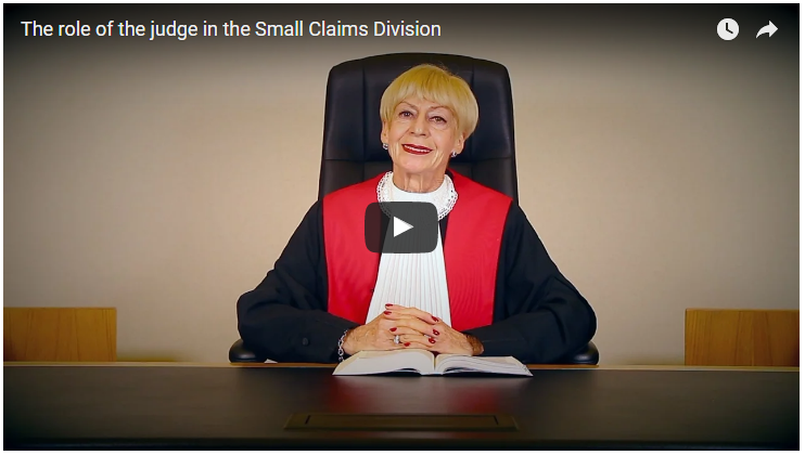 Wondering how to prepare your file and witnesses for small claims court?