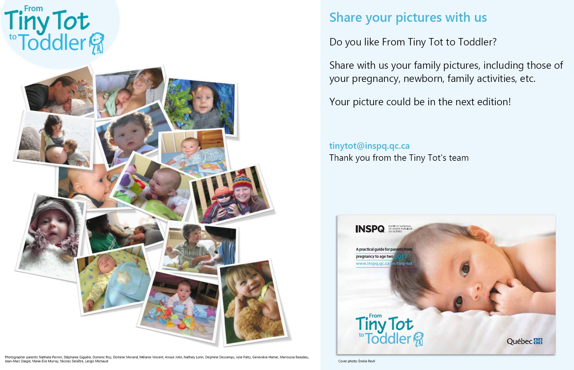 Do You Have Cute Fun Family Pics Get Featured in the From Tiny