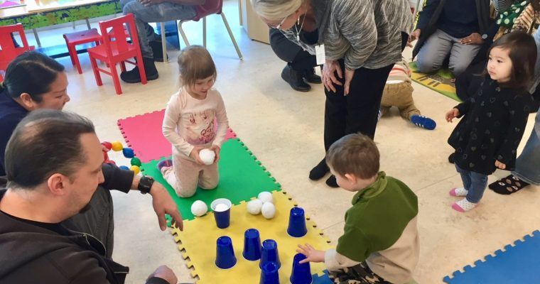 Winter Fun And Games At The Itsy Bitsy Tots Playgroup!