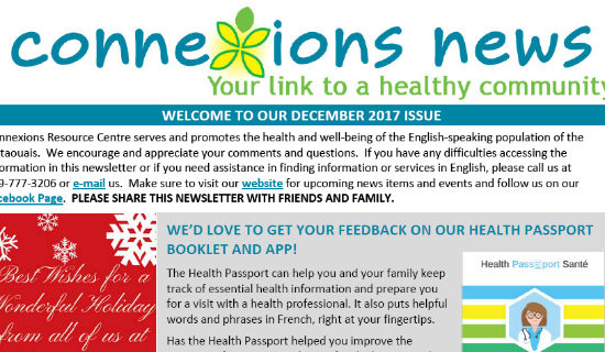 Our Connexions December Newsletter Is Out!