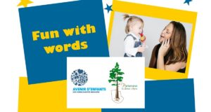 FREE Fun With Words Workshops For Tots: Now Accepting Registrations! @ CPE Les Petits Lurons | Gatineau | Québec | Canada