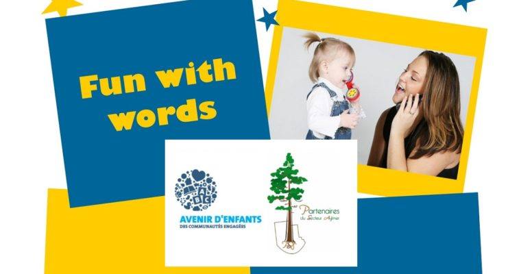 FREE Fun With Words Workshops For Tots: Now Accepting Registrations!