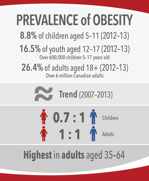 Canadian adult obesity culture