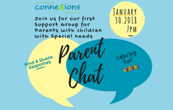 Join Us for Our First Parent Chat on Tuesday, January 30!