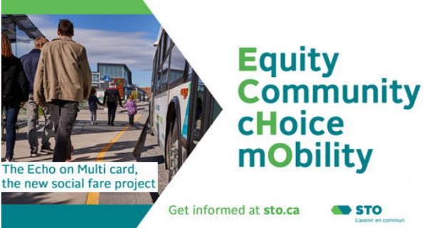The Equity Community Choice Mobility (ECHO) – New STO Fares