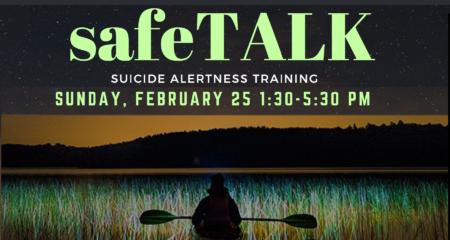 SafeTALK: Suicide Alertness Training Workshop @ Mill Road Community Space   Chelsea   Québec   Canada