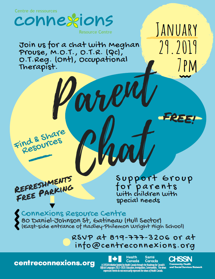 Parent Chat With Special Guest Meghan Prouse Occupational Therapist